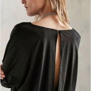 Silence + Noise Urban Outfitters Black Romper XS